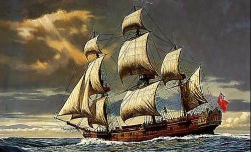 HMS Resolution, nave del segundo viaje del Capitán Cook