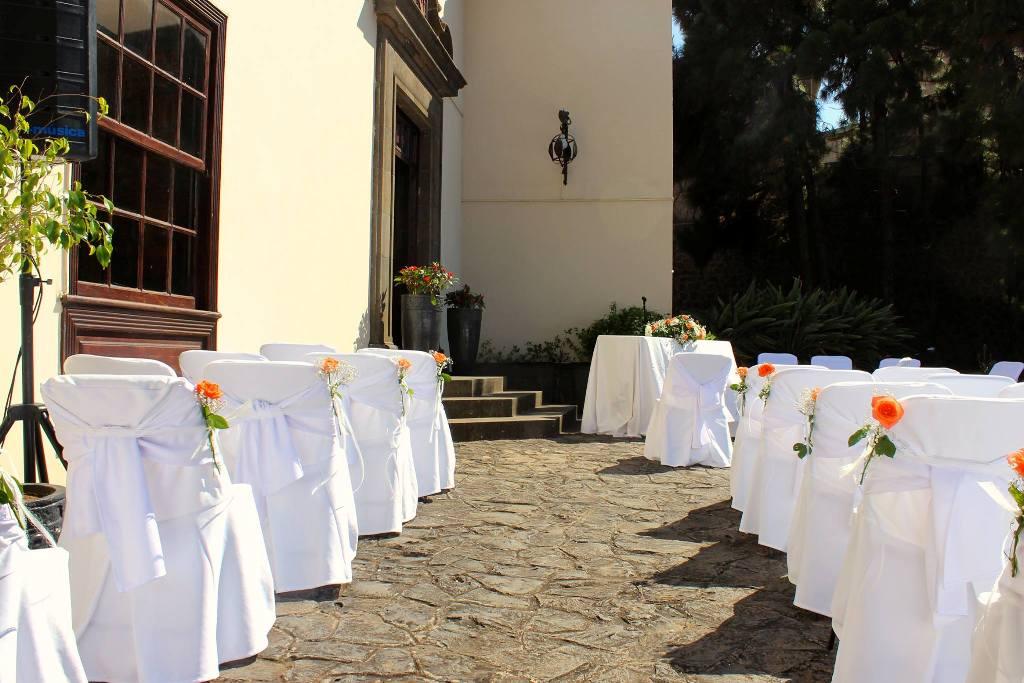 Ceremonia en la entrada detalle