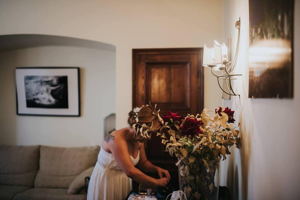 Sala coqueta novia